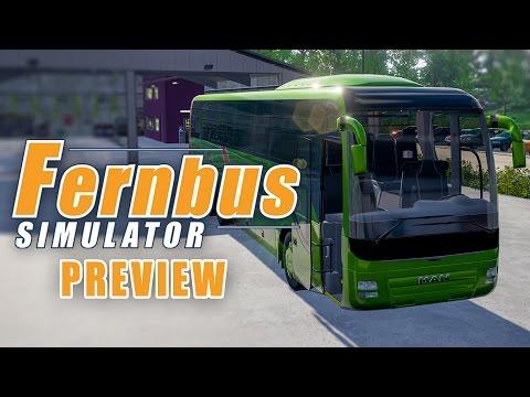 FERNBUS COACH SIMULATOR Gameplay PREVIEW: Entwickler Talk über Modding, Features und Karriere!