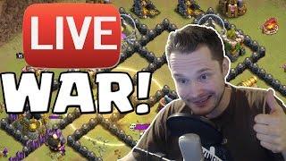 LIVE CLAN WAR ACTION! || CLASH OF CLANS || Let's Play CoC [Deutsch/German HD+]