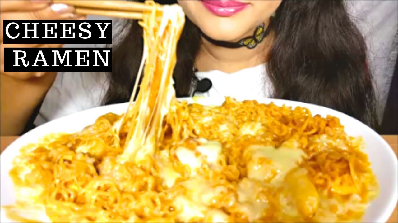 Asmr Extreme Cheesy Noodles Mukbang먹방 No Talking Youtube However on this channel, you can expect there will be a lot of random food related vlogs shenanigans. asmr extreme cheesy noodles mukbang먹방 no talking