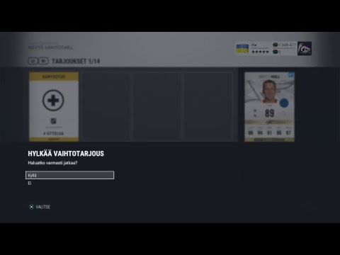 NHL17 | PELATAAN COMPPIA|ROAD TO 5500 SUBS! (KLO 15:30)