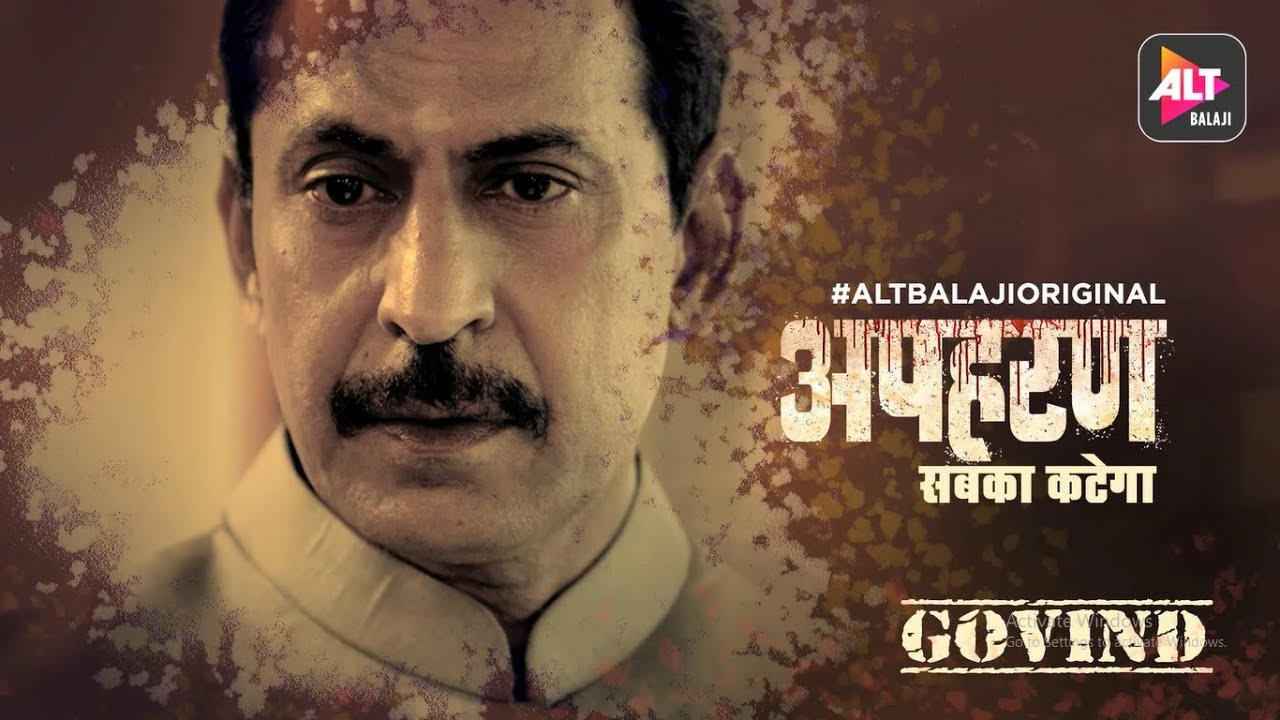 Download Apharan | Sabka Katega | Govind Tyagi Character Introduction | ALTBalaji Original