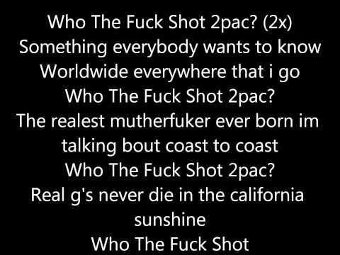 King Lil G Who Shot 2pac lyrics