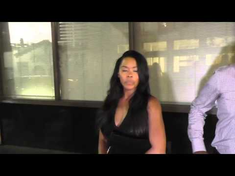 Golden Brooks talks about Empire as she leaves Katsuya in Hollywood