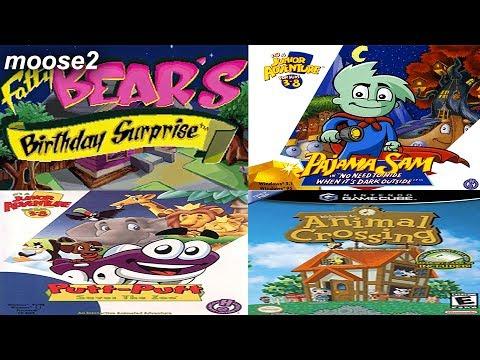Fatty Bear / Pajama Sam 1 / Putt Putt Saves the Zoo / Animal Crossing (Birthday Stream!)
