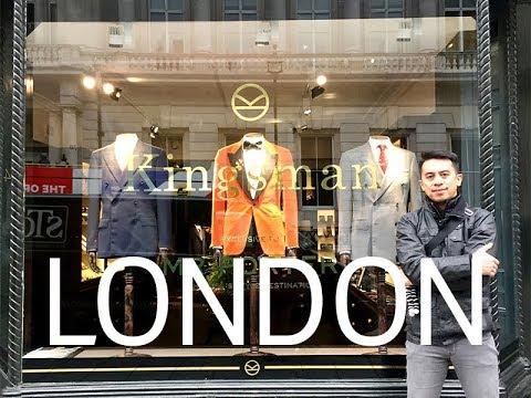 Visiting the real Kingsman tailor | Crew Travel VLOG #2