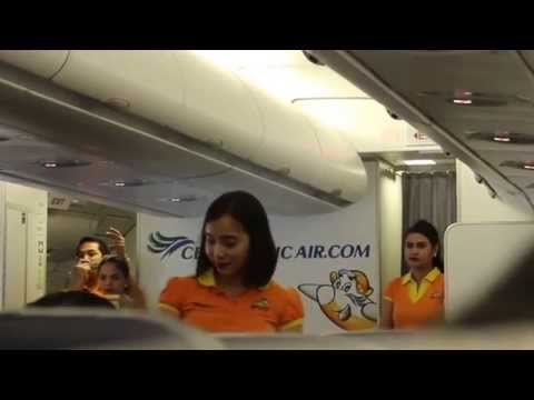 Cebu Pacific Air A330 Flight Experience: 5J805 Manila to Sin