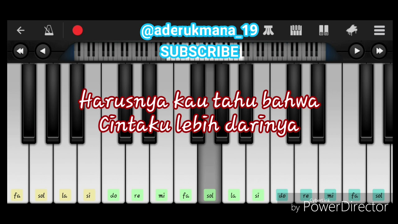 Not Harmonika Pianika Armada Harusnya Aku Youtube