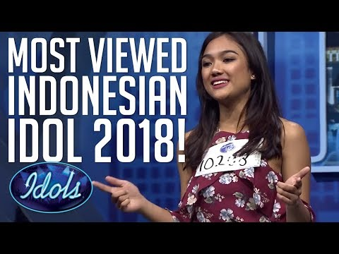 TOP 10 MOST VIEWED INDONESIAN IDOL 2018 AUDITIONS! | Idols Global