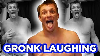 GRONK Laughing! (after Super Bowl XLIX win)
