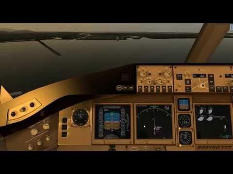X Plane 10 Boeing 777 Worldliner Professional KSEA to CYVR