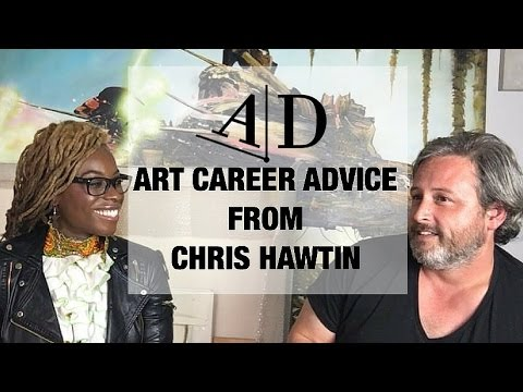 Chris Hawtin: Art Career Advice: Adelaide Damoah Art Discussion