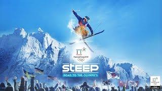 Только к победе в игре ⛷Steep🏂 - Поднимаем ранги в горах Южной Кореи,Японии,Альп и Аляски !!:)