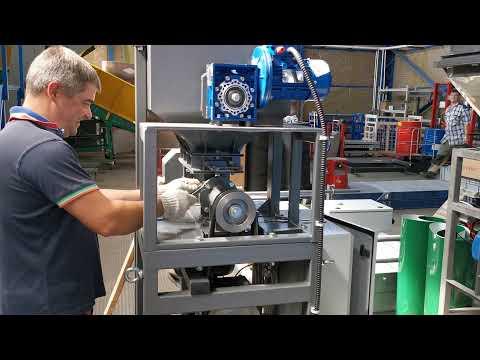 Регулировка фасовочного дозатора ДОН для наполнения клапанных мешков до 50 кг