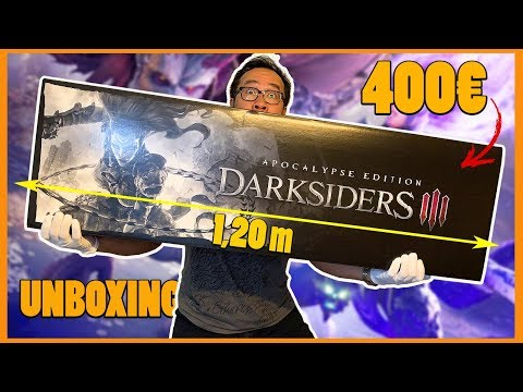Darksiders 3 : le PLUS GROS COLLECTOR que j'ai jamais déballé (UNBOXING)