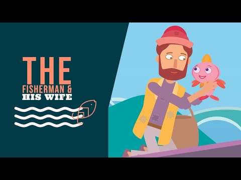 The Fisherman And His Wife - Fairy Tales For Kids - Moral Stories