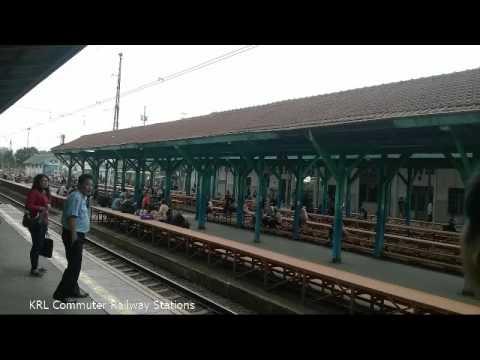 KRL (KCJ) Commuter Railway Station - Jakarta,Tangerang,Bekasi,Bogor mass public transportation
