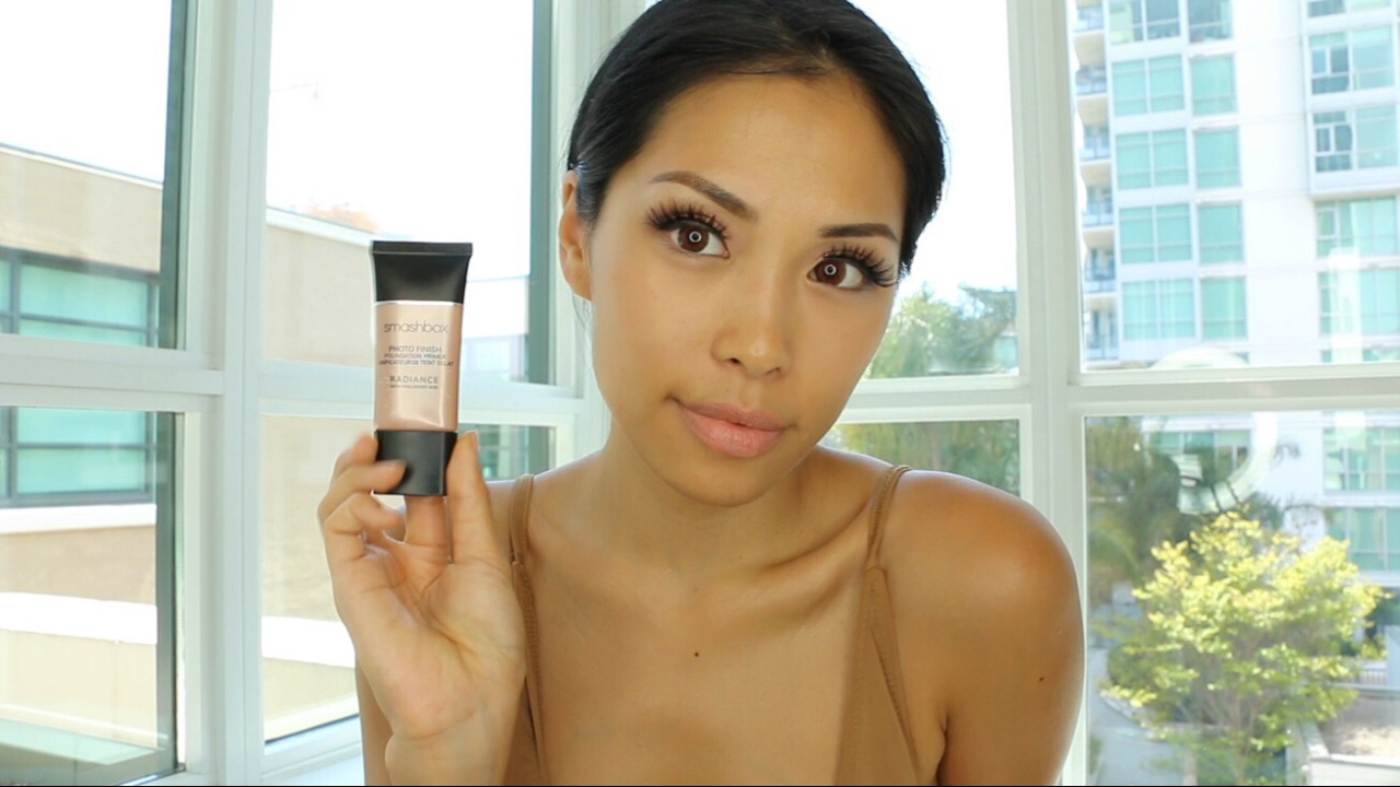 Smashbox Primer Radiance Review And Kopari Coconut Body Glow Beach