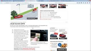 eCall die Überwachung im Auto ?