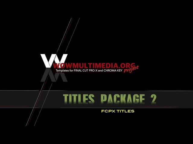 WM Titles Package 2