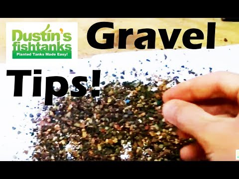 Aquarium Gravel- What Kind Of Susbstrate To Use In A Planted Tank? Different Gravel Types
