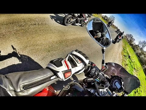 Yamaha FZ6 N / GoPro Hero 3 /Czech - Daily Observations 9