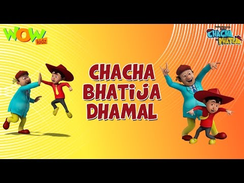 Chacha Bhatija Dhamaal - Funny Videos And Compilations - 3D Animation Cartoon For Kids
