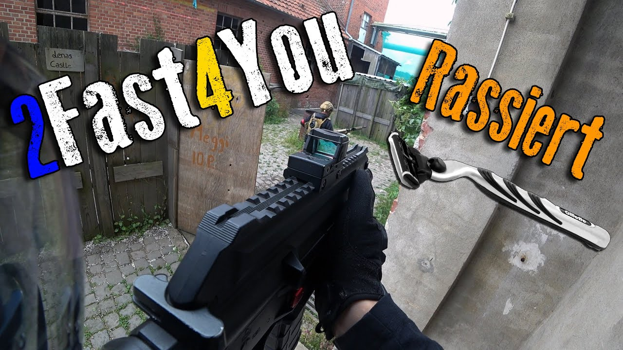 2Fast4You Rassiert | Highlander Airsoft un-Funny Moments CQB Gameplay Lauterbach