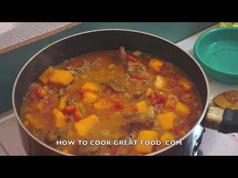 Beef & Pumpkin Curry Recipe Indian Masala Video - YouTube