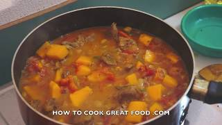 Beef & Pumpkin Curry Recipe Indian Masala Video