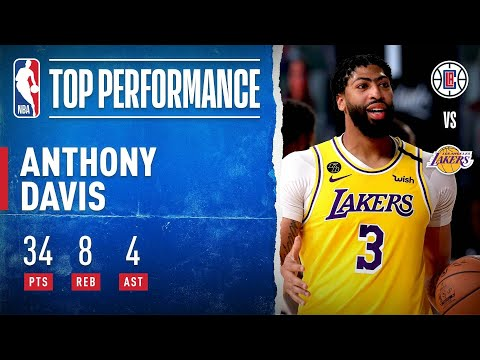 Anthony Davis Drops 34 PTS, 8 REB & 4 AST To Guide Lakers!