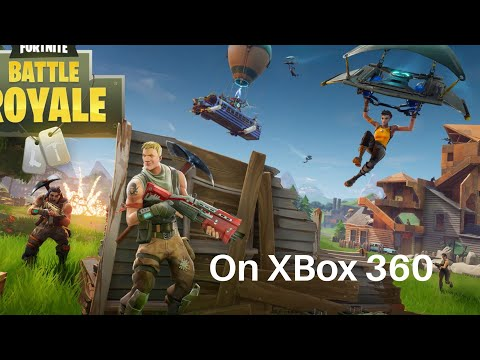 Fortnite On Xbox 360 (Download)