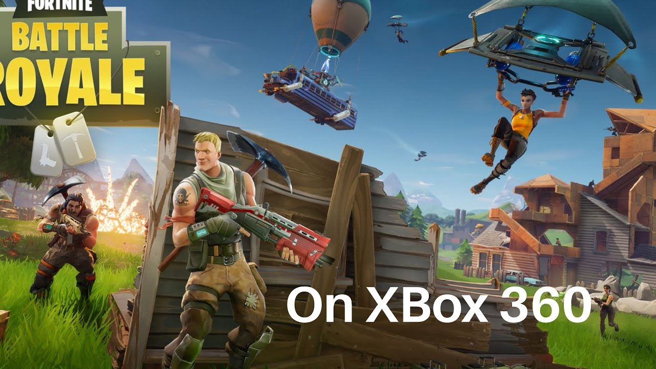 Fortnite On Xbox 360 Download Youtube
