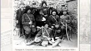 Русско - Японская война. Интерактивная карта.