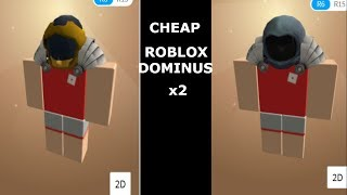 HOW TO MAKE A CHEAP ROBLOX DOMINUS