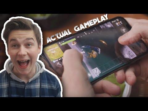 Fortnite Mobile Gameplay Trailer! (Review Reaction) Battle Royale