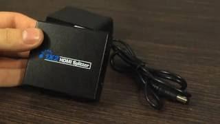 #12 Unboxing - Splitter HDMI - wzmacniacz oraz usuwa HDCP - 1080p