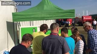 Wystawa rolnicza - Agroshow 2018. Separator aerodynamiczne do zboża ALS-5