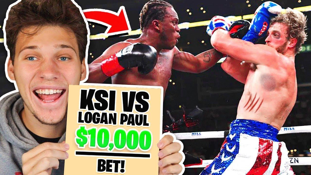 Bet on logan vs ksi the bookie beating soccer betting secrets