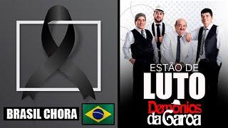 Triste: Comunicado para o Brasil entristece a todos.  Grupo Demônios da Garoa faz triste comunicado.