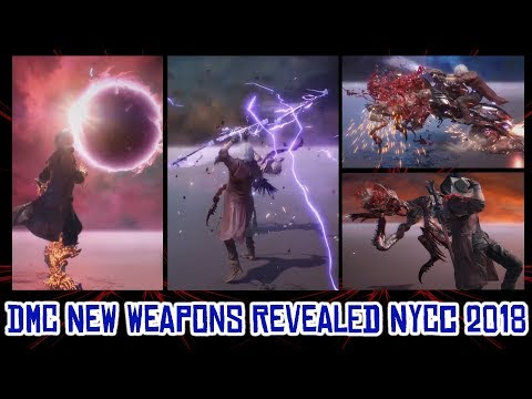 Devil May Cry 5 - WEAPONS REVEALED AND MORE - NYCC 2018 thumbnail