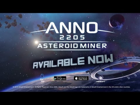 Anno 2205: Asteroid Miner - Launch Trailer [INT]