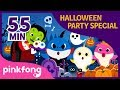 Halloween Sharks and more | +Compilation | Halloween Playlist | Pinkfong Halloween Songs Mp3