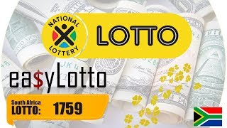 Lotto results South Africa 4 Nov 2017