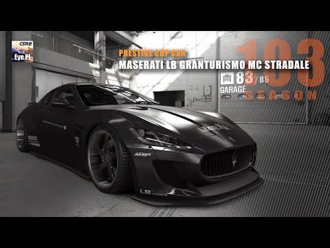 CSR2 | Season 103 - Prestige Cup Car - Maserati LB GranTurismo MC Stradale | CSR Racing 2 | Mods