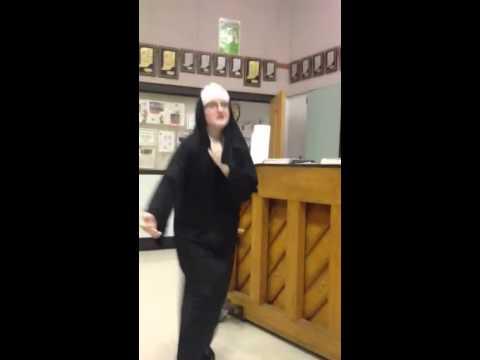 Emily the dancing nun