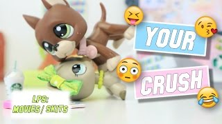 lps your crush funny high school skit