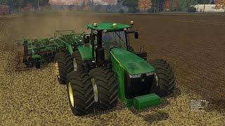 Farming Simulator 2015:  John Deere 9560RT & 2720 Disk Ripper Soil Management