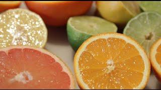 Sorbet aux agrumes  Citrus sorbet