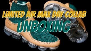 Unboxing   Super Limited Nike Air Vapormax Collab
