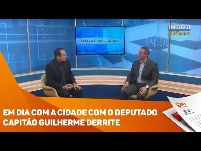 Em dia com a cidade com deputado capitão Guilherme Derrite - TV SOROCABA/SBT